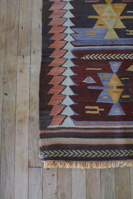 nomad collective Antique Turkish Tribal Kilim rug - multi