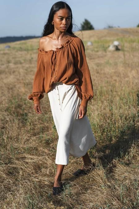 Arraei Collective Margot Skirt - Ivory