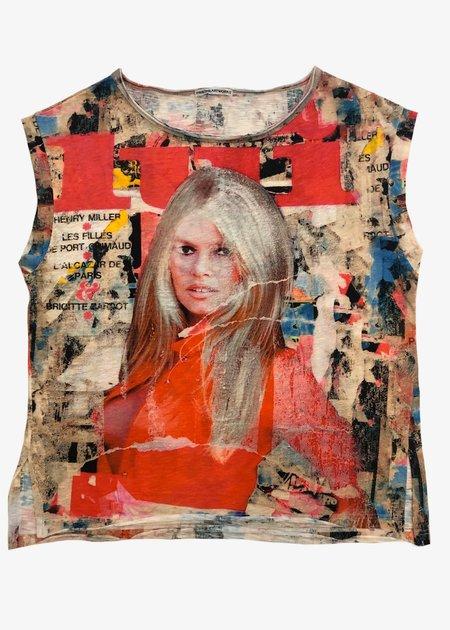 Printed Artworks Boxy T-Shirt - Brigitte