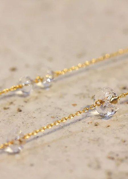 Sente Lumief Loop Long Necklace - 10K yellow gold