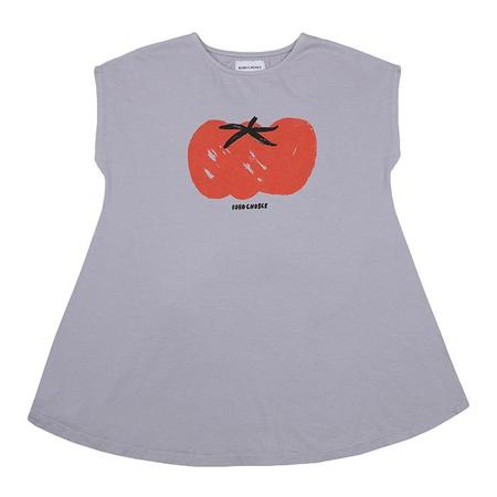 Kids Bobo Choses Dress With Tomato Print - Purple