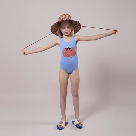 Kids Bobo Choses Child Swimsuit With Tomato Print - Blue