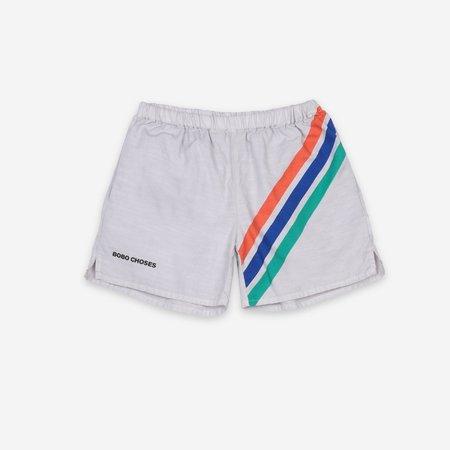 Kids Bobo Choses Crosswise Stripes Woven Shorts