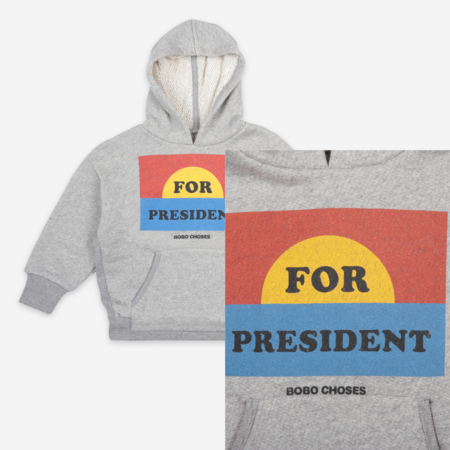 Kids Bobo Choses For President Hoodie