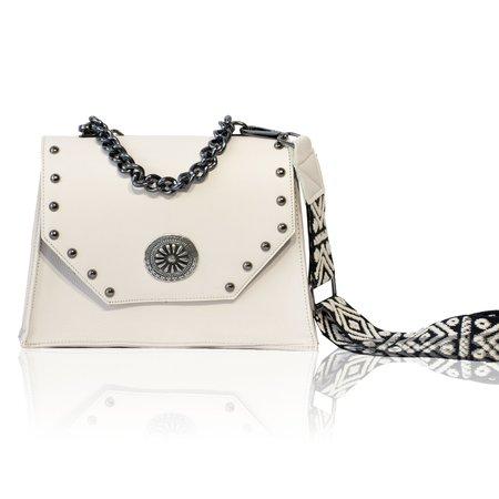 Bonendis Chiara Leather bag - White