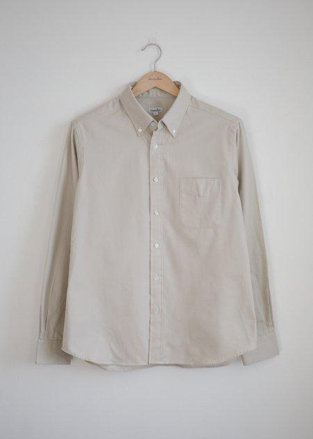 Steven Alan Classic Collegiate Shirt - Ecru Oxford