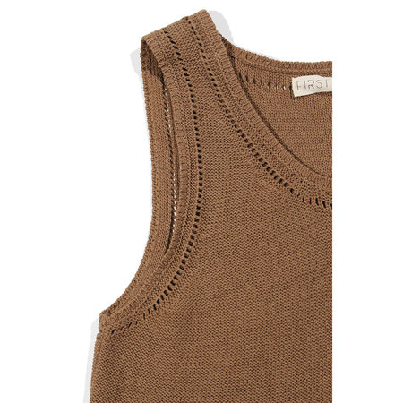 First Rite Sweater Tank - Cocoa