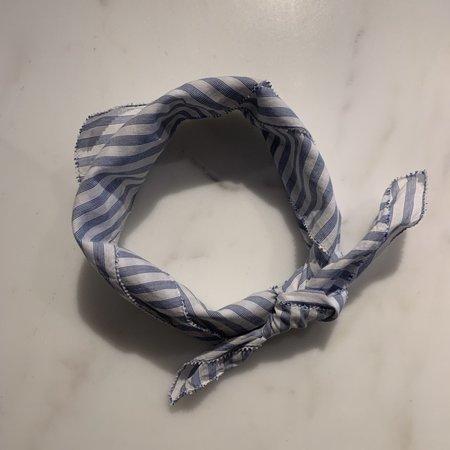 Trovata Charlotte Scarf - Blue Stripe
