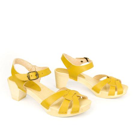 Bosabo 437 Woven Clog - Yellow