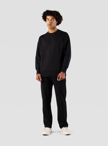 I AND ME Organic Brushed Trackpant - black