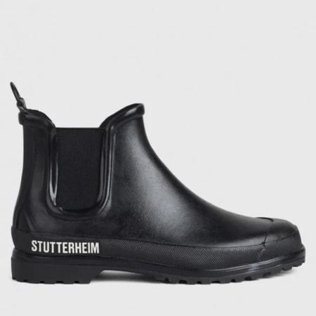 Stutterheim Chelsea Rainboot - Black