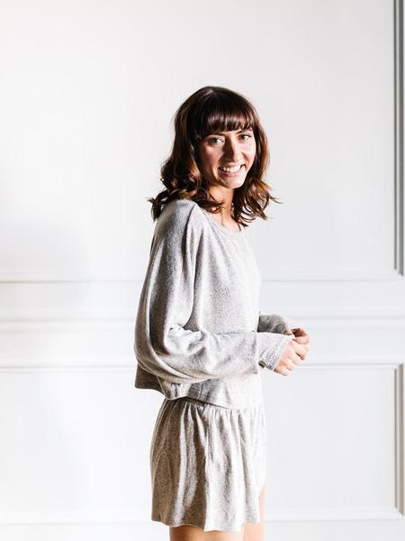 Maronie Sweater Set - Taupe