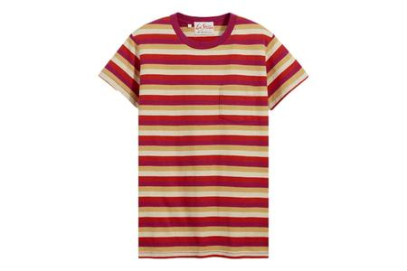 Levi's 1950's Sportswear Tee Shirt - Red Stripe