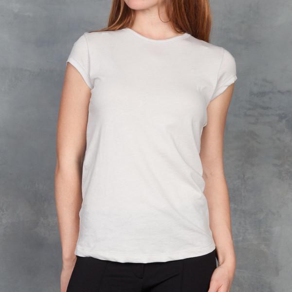 Organic by John Patrick Short Sleeve Shirt tail