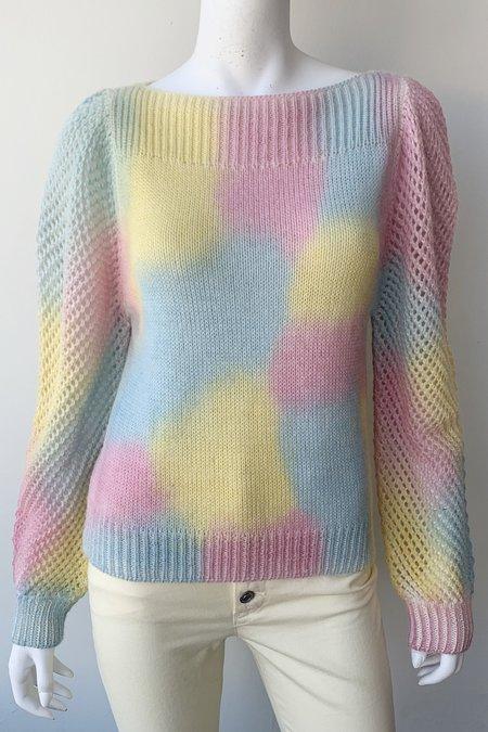 LoveShackFancy Rosie Pullover Sweater - Rainbow