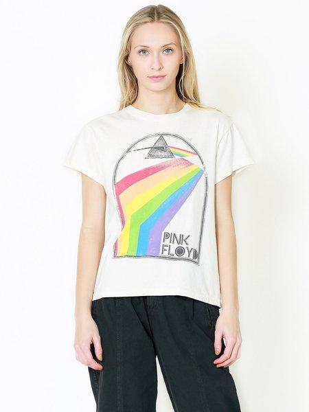 Day Dreamer Pink Floyd Retro Rainbow Tour Tee - Stone Vintage