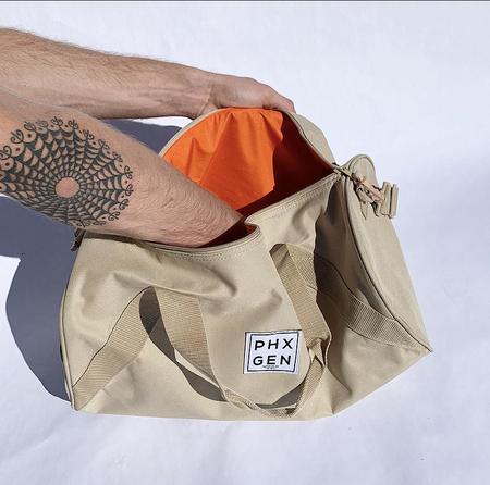 Unisex Phoenix General Duffle Bag - Tan