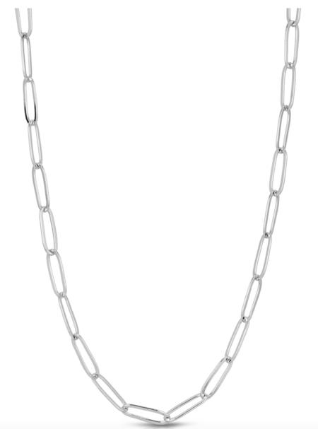 LADYBIRD Chunky Monaco Necklace - Silver