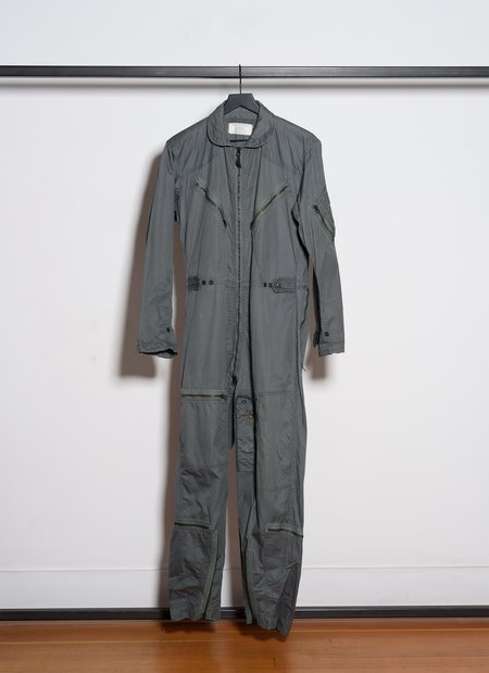 Vintage K-2B Flying Very Light Coverall from 1969 - Olive