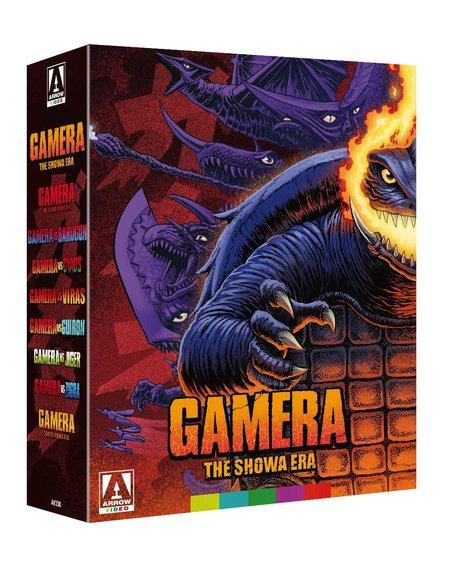 Arrow Films Gamera, The Showa Era - Blu Ray