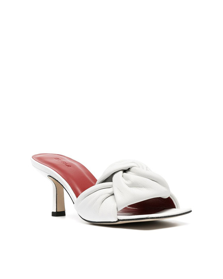 By FAR Mules with Knot - White