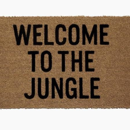 Reed Wilson Design Welcome to the Jungle Doormat