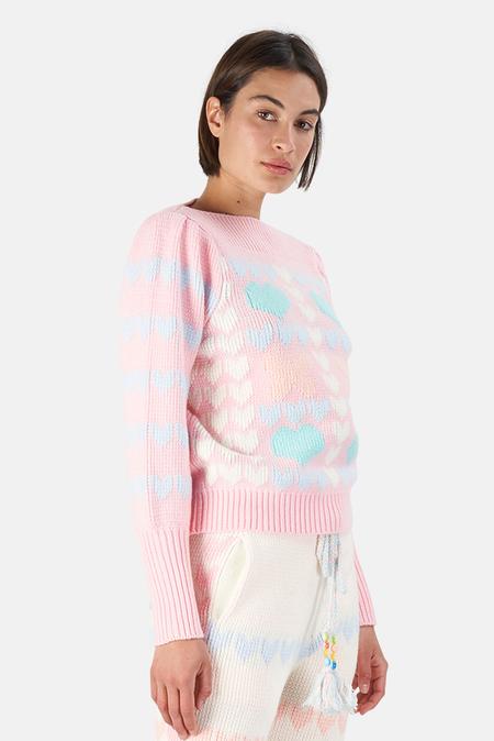 LoveShackFancy Gizela Pullover Sweater