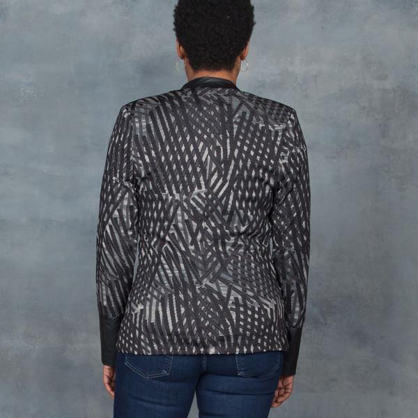 Tart Parker Jacquard Blazer in Black