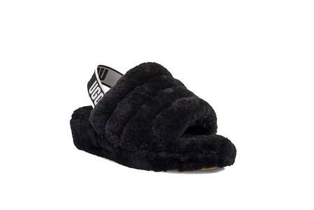 UGG Fluff Yeah Women 1095119-BLK Slide shoes - Black