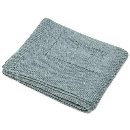 kids bonton baby blanket - sage