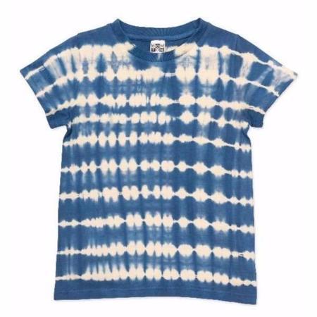kids bonton t-shirt - tie-dye blue