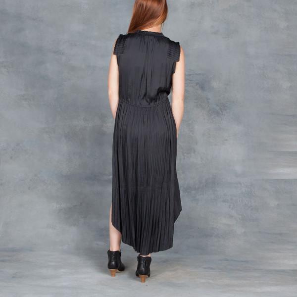 Ulla Johnson Tullia Dress in Black Raven