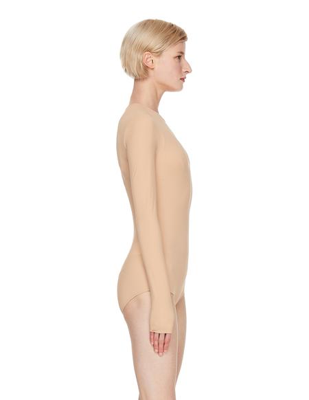 Maison Margiela Beige Long Sleeve Bodysuit - Beige
