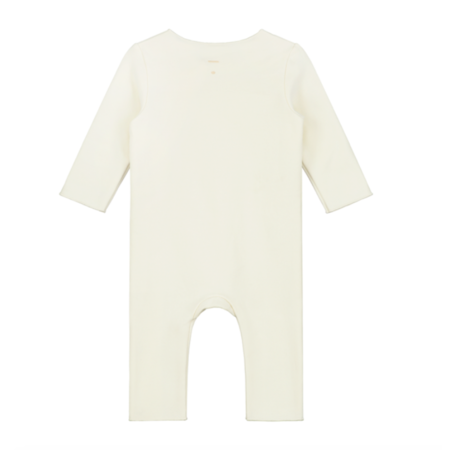 gray label baby suit - cream
