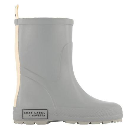 gray label X novesta rain boots - grey