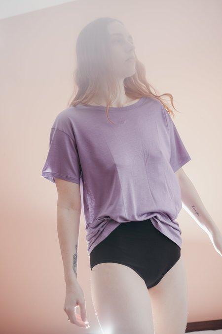 Baserange Loose Tee - Chay Purple