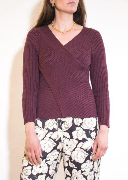Shaina Mote Didion Sweater - Plum