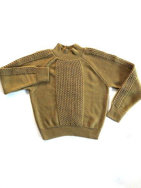 MILA ZOVKO MONICA Sweater - Mustard