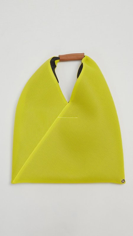MM6 by Maison Margiela Japanese Mesh Tote - Yellow