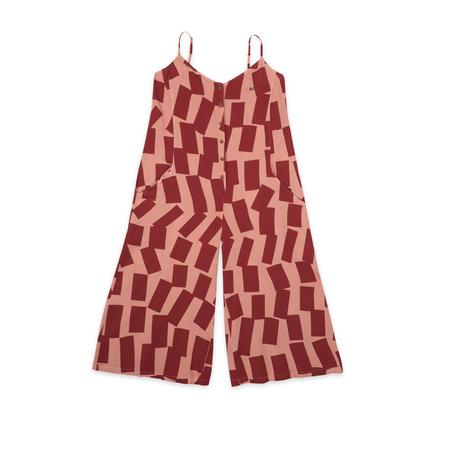 Bobo Choses Shadows Printed Jumpsuit - Pink