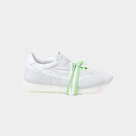 RBRSL Scarpa Palo Manmade Sole Sneaker - Off White/Green