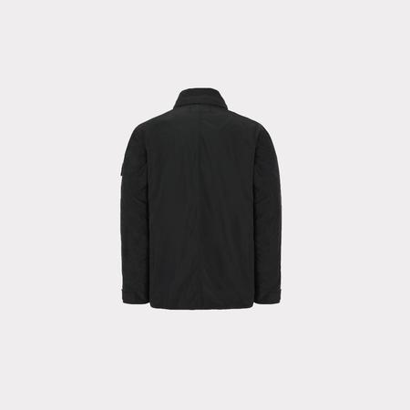 Stone Island Micro Reps Removable Hood - Black
