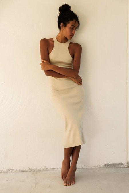 Bahhgoose Rye Dress - Sand