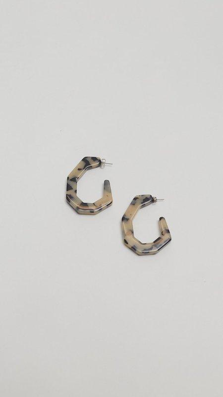 Rachel Comey Baby Factor Earrings - Dalmation
