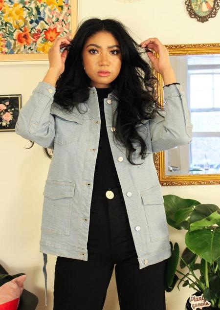 Rita Row Tessa Denim Jacket - blue