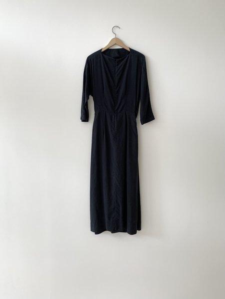 Kamperett LEYS DRESS - NAVY Blue