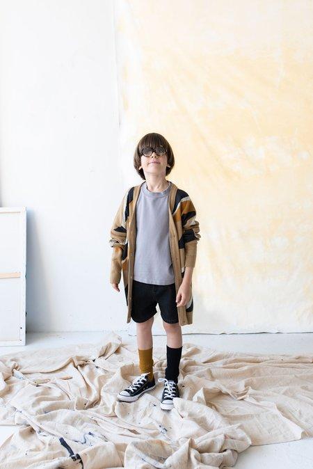 kids unisex Main Story Denim Short - black