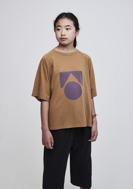 kids unisex Main Story Raglan T-Shirt - apple cinnamon