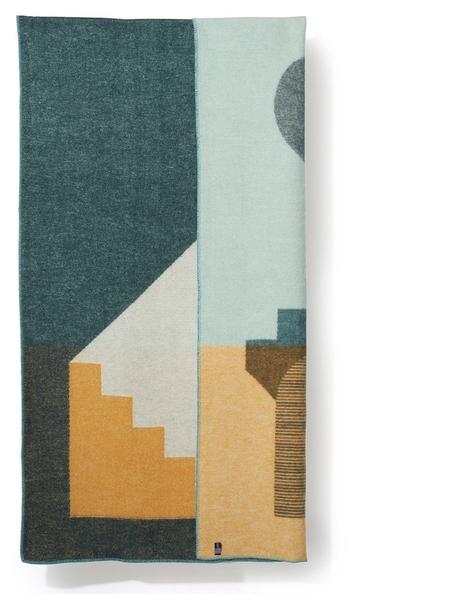ZigZagZurich Aspect wool blanket