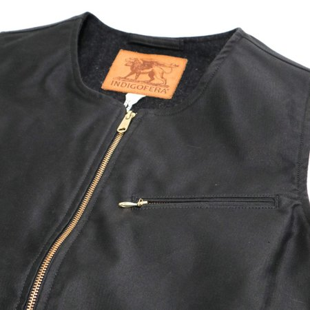 Indigofera Iconic Vest - Charcoal